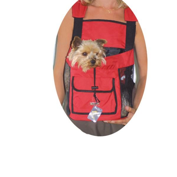 a88c5afbacc RED  Batoh pro psy cestovní Doogy! RED
